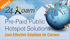 24Roam Pre-paid Hotspot solution