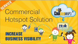 Commercial Hotspot solution